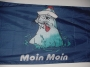Flagge Seehund/Pfeife 150x90