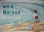 """Flagge """"Mein Norden"""" 150x90"""