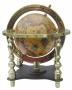 Globus im Antikdesign