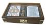 Karten-Würfelbox mit Glassichtfenster