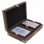 Karten-Würfelbox mit Klappdeckel