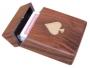 Kartenbox mit Klappdeckel