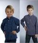 """Original """"Finkenwerder Fischerhemd"""" für Kinder"""