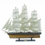 Segelschiff-Cutty Sark, L 100 cm, H 90 cm