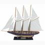"""Segelschiff """"Atlantic"""", L 71 cm, H 56 cm"""