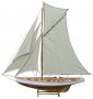 Segelyacht, L 125 cm, H 135 cm