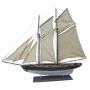 Segelyacht, L 85 cm, H 72 cm