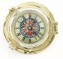 Uhr im Bullauge, Ø 18 cm
