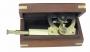 Winkelsextant Messing L 18 cm